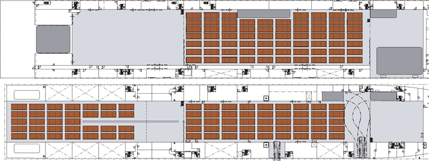 Amazing Aircraft Carrier Floor Plan Images Flooring