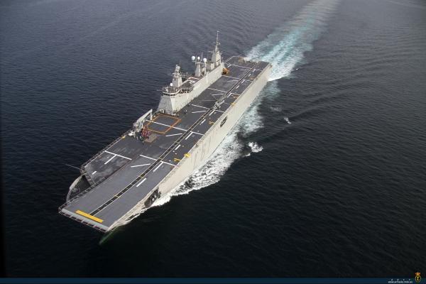 Anadolu LHD - Buques de GuerraSpanish Aircraft Carrier Juan Carlos